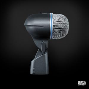 Shure Beta 52A inkl mikrofonstativ