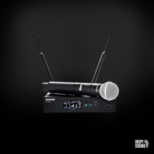 Shure QLXD Trådløs Beta 58A inkl mikrofonstativ