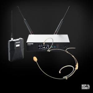 Shure QLXD Trådløs Proel HCM03 Headset pakke